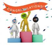 2014年全球串流音樂行業前八強服務